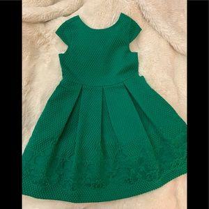 Stunning green brocade Dress